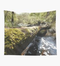 Log Crossing Wall Tapestry