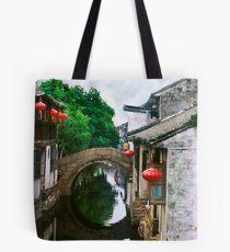 China Bridge Tote Bag