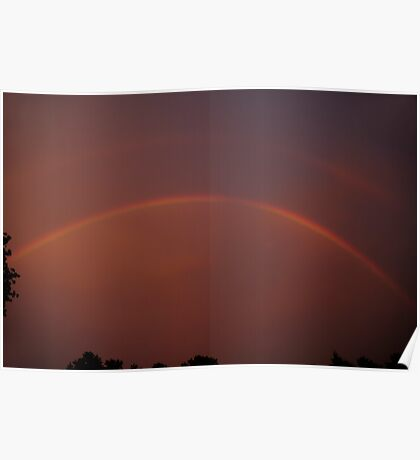 Storm's End - 3 Sunset Rainbow Poster
