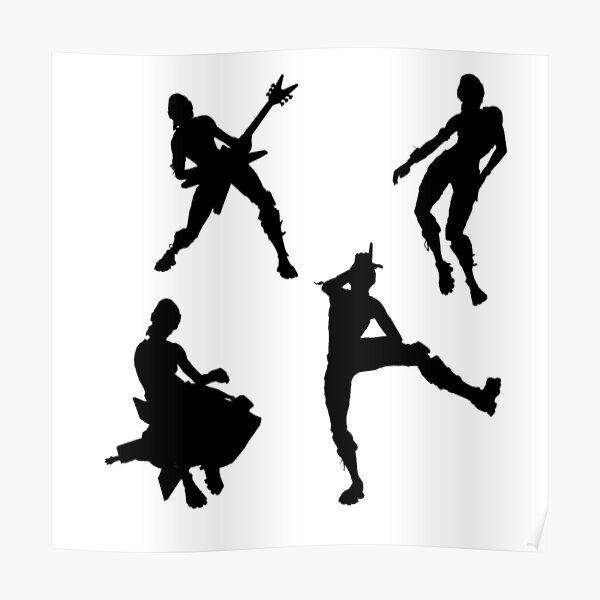 Fortnite Dances Posters Redbubble