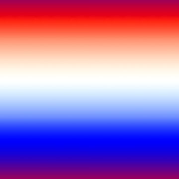 Red White and Blue Merging Gradient Pattern by MarkUK97