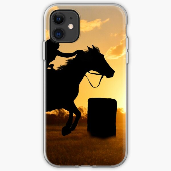BARREL RACING---- A WAY OF LIFE iPhone Soft Case