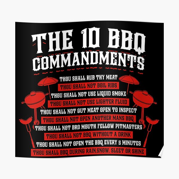 Bbq Memes Posters Redbubble