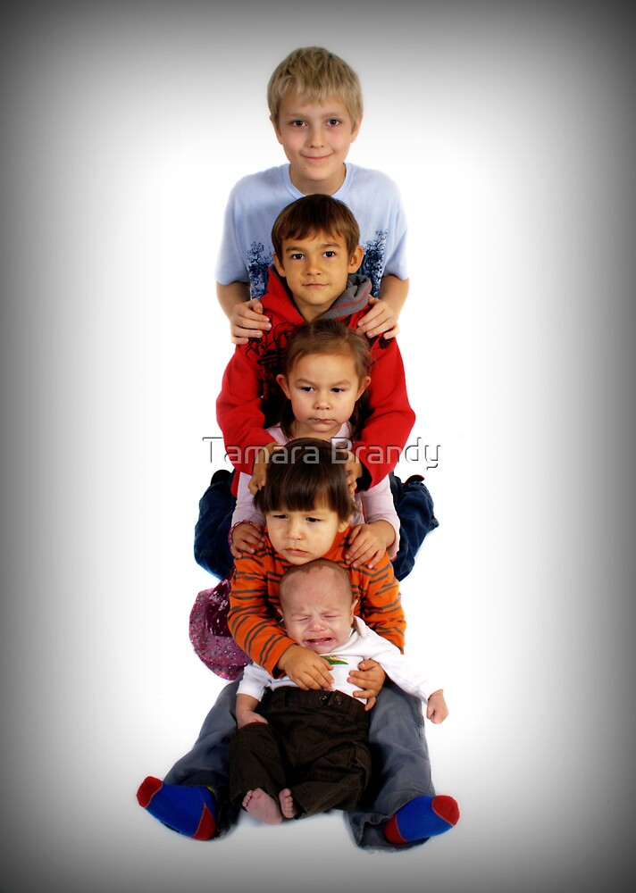 Totem Pole Kids by Tamara Brandy