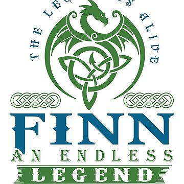 Legend T-shirt - Legend Shirt - Legend Tee - FINN An Endless Legend by wantneedlove