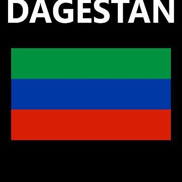 Dagestan Flag Design by Paradisessntl