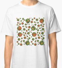 Green Petri Dish Polka Dot Classic T-Shirt