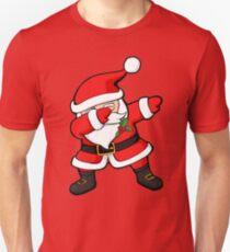 Dabbing Santa Claus Christmas Dab Unisex T-Shirt