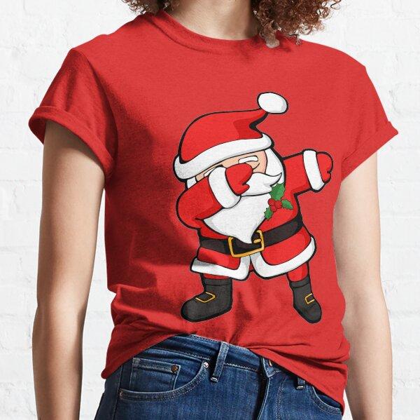 Dabbing Santa Claus Christmas Dab Classic T-Shirt
