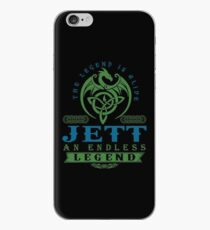 Legend T-shirt - Legend Shirt - Legend Tee - JETT An Endless Legend iPhone Case