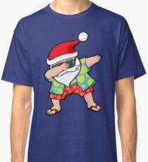 Hawaiian Dabbing Santa Classic T-Shirt