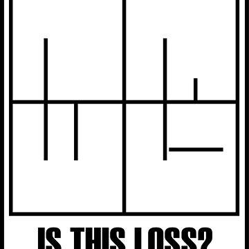 Is this loss? [Minimal meme] [Chest badge] by ashikshrestha
