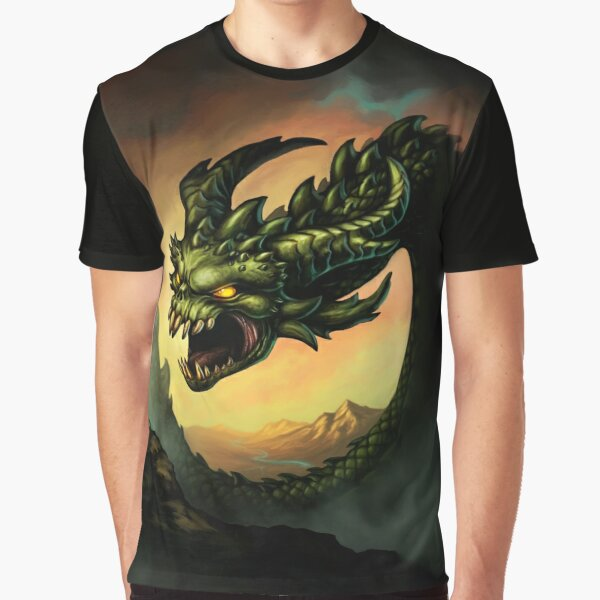 Guile & Glory: Firstborn - Wyrm (no title) Graphic T-Shirt