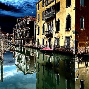 Venetian Canal by ansaharju