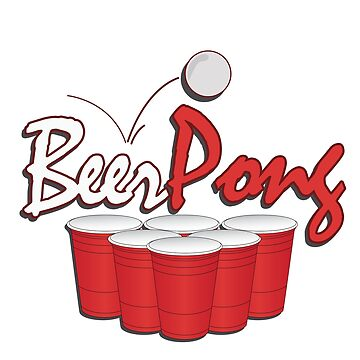 Beerpong by 0815-Shirts