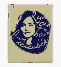 Run You Clever Boy iPad Case/Skin