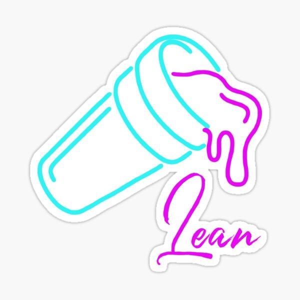 Lean Neon Sticker