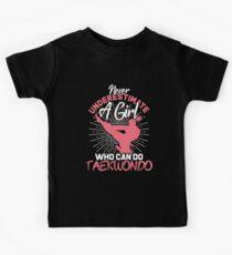 Camiseta para niños Taekwondo Girl