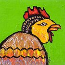 Hen Pecked by Amy Greenberg