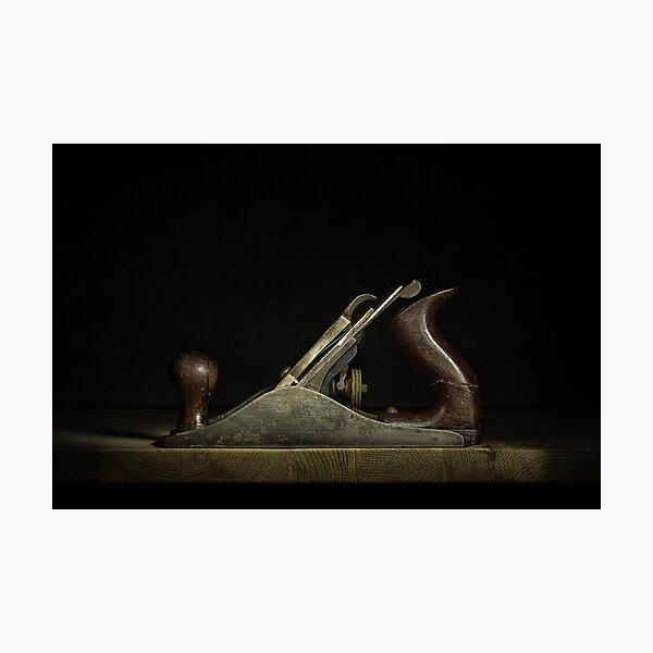 Wood Plane Photographic Print