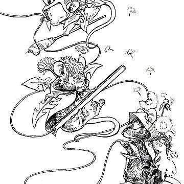 The Three Mice Fates by pawlove