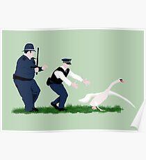 Póster Policías de Swan