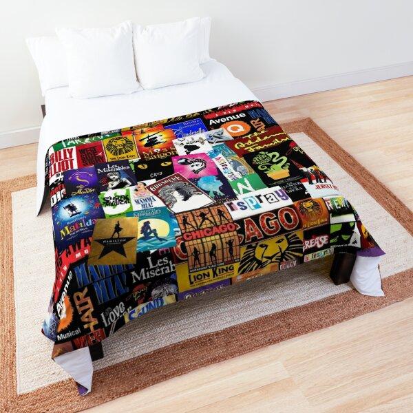 Musicals Collage II Comforter