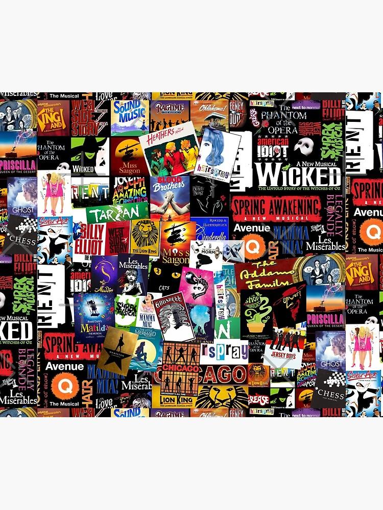 Musicals Collage II by BrambleBox