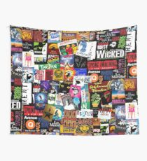 Musicals Collage II Wall Tapestry