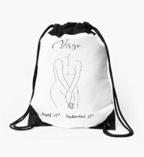 Virgo zodiac sign Drawstring Bag
