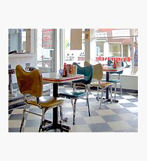 Fifties Diner Deco Photographic Print