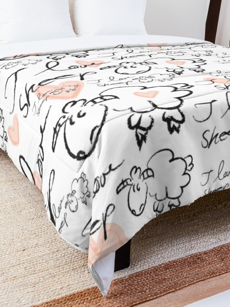 Alternate view of Sheep Comforter