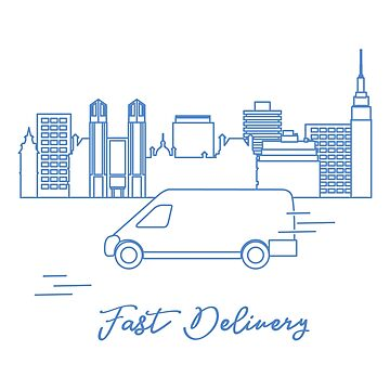 Delivery by car in the city. by aquamarine-p