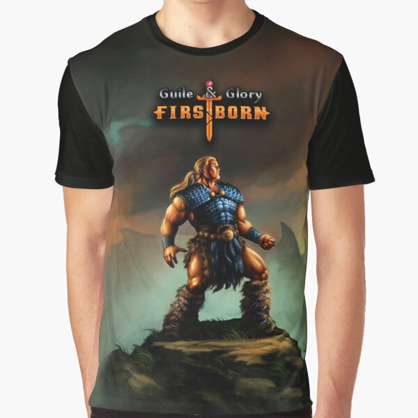 Guile & Glory: Firstborn - Outlander (with title) Graphic T-Shirt
