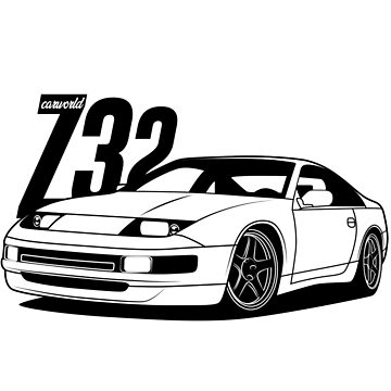 Nissan 300ZX Z32 Best Shirts Design by CarWorld