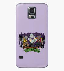 Funda/vinilo para Samsung Galaxy TMNT - Foot Soldiers 02 con Shredder, Bebop & Rocksteady - Tortugas ninja adolescentes mutantes