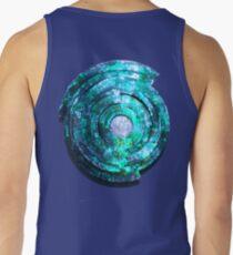 Blue/Aqua/Green Shield-t Tank Top