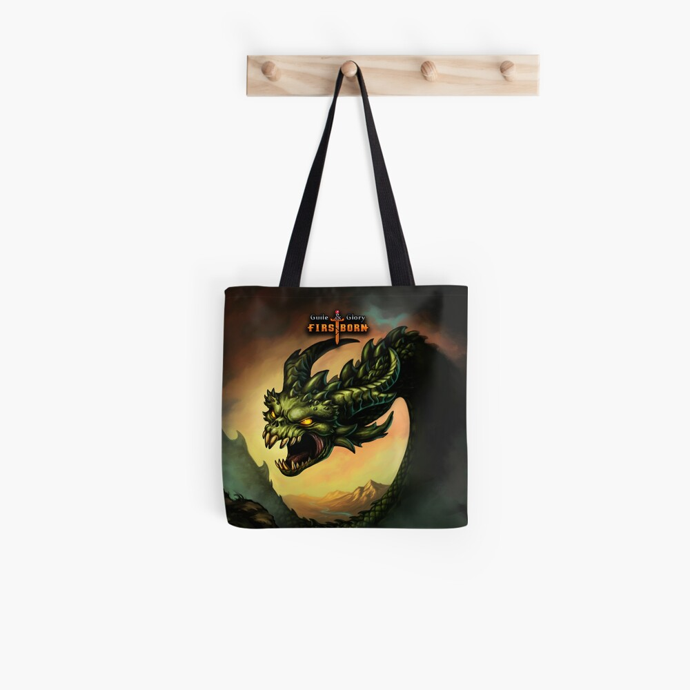 Guile & Glory: Firstborn - Wyrm (with title) Tote Bag
