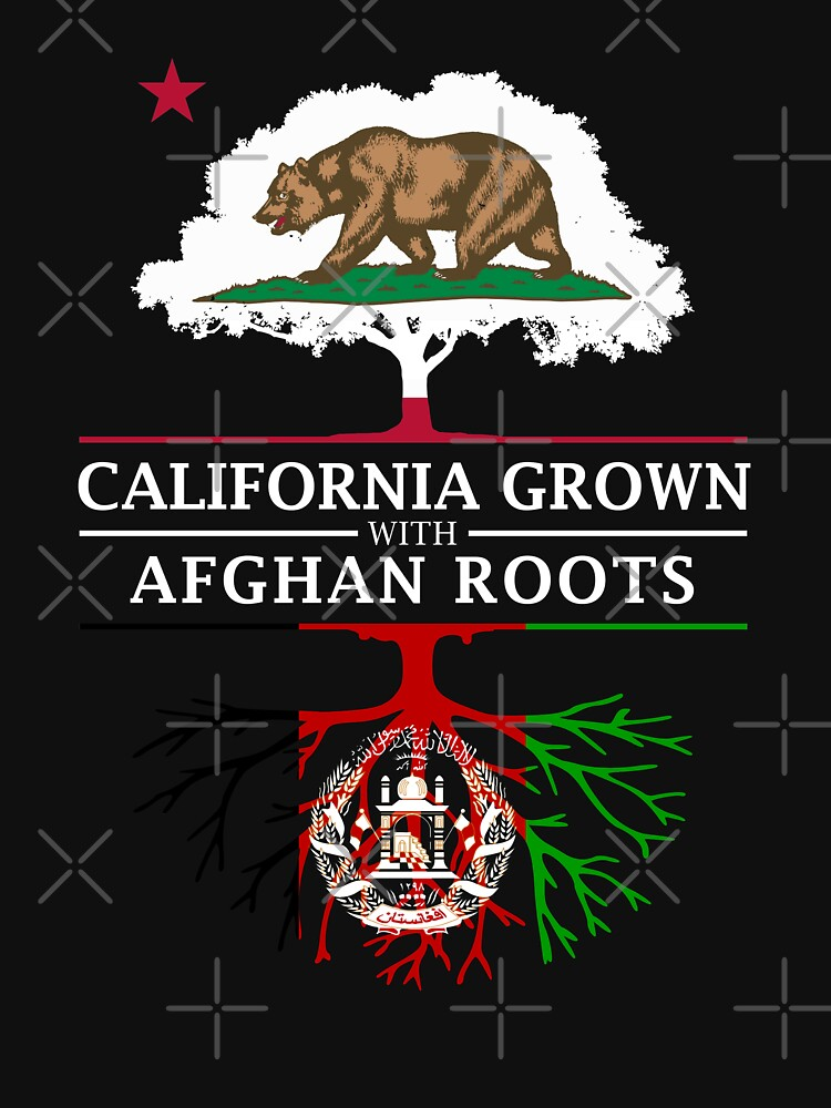 California Grown with Afghan Roots by ockshirts