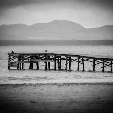 Mallorca Pier – BW by lesslinear