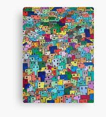 ViBa - (142)Favelas Canvas Print