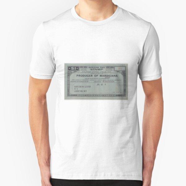Producer of Marihuana Slim Fit T-Shirt
