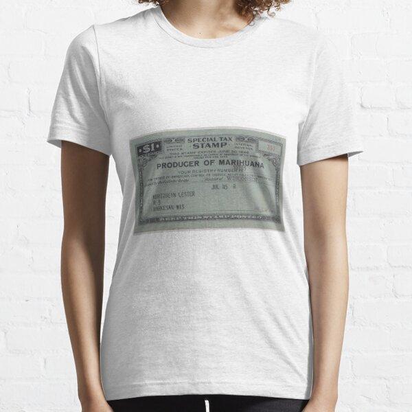 Producer of Marihuana Essential T-Shirt