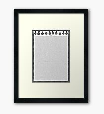 Free Churro  Framed Print