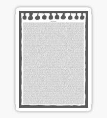 Free Churro  Sticker