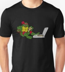 TMNT - Raphael with Pizza T-Shirt