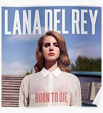 geboren, um das Albumcover zu sterben Poster