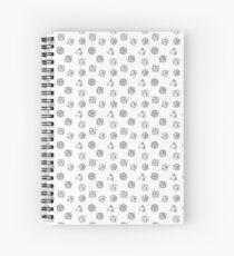 Cuaderno de espiral Conjunto de dados pequeños