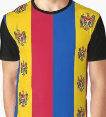 Flag of Moldova Graphic T-Shirt