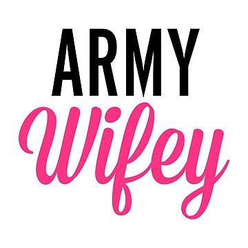 Army Wifey Quote by quarantine81